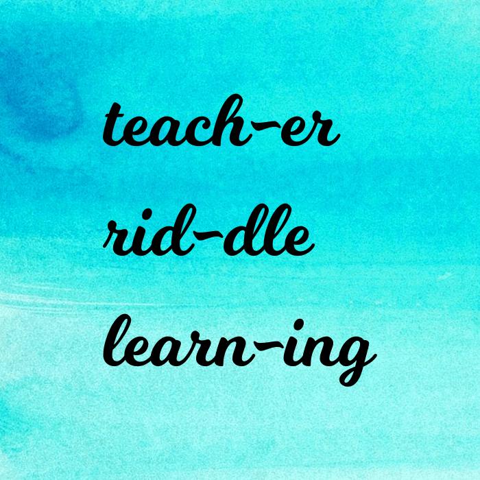 teach-er